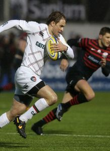 matthew tait for leicester tigers v saracens