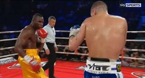 Bellew title hopes end in TKO