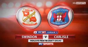 Swindon 3-1 Carlisle