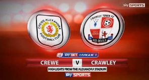 Crewe 1-0 Crawley