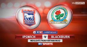 Ipswich 3-1 Blackburn