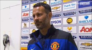 Man United v Everton - Giggs
