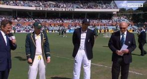 2nd Test - The Toss