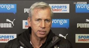 Pardew expects a reaction