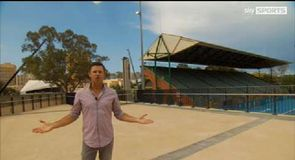 Blewett's tour of the Adelaide Oval