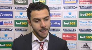 Assaidi 'very happy' with first goal