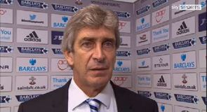 Pellegrini happy with point