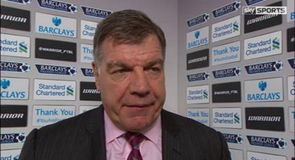 Allardyce: Scoreline doesn't tell the story