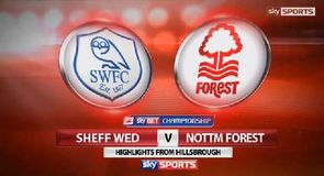 Sheff Wed 0-1 Nottingham Forest