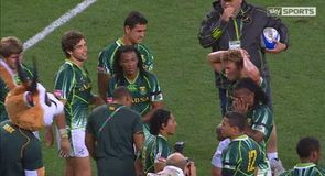 Emotional win for Springboks