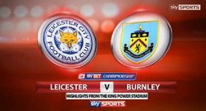 Leicester 1-1 Burnley
