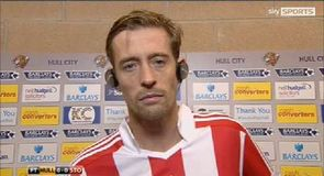 Crouch not disappointed with point