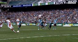 Harry Kewell's penalty blunder