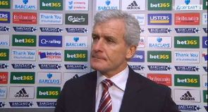 Hughes happy with win