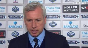Crystal Palace v Newcastle – Pardew