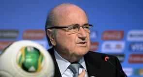 Blatter eases security concerns