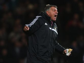 Allardyce: Feeling the pressure