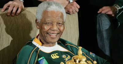 Rugby world pays tribute to Mandela