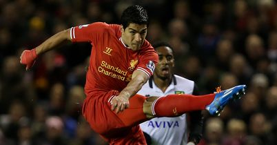 Suarez: In top form