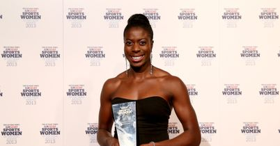 SPORTSWOMEN OF THE YEAR CHRISTINE OHURUOGU ATHLETICS