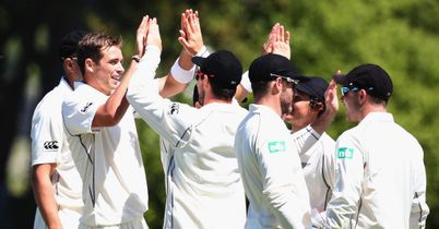 New Zealand closing in on victory against the West Indies