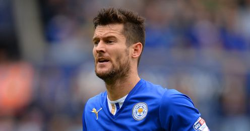 Fox in the box: Nugent gives Leicester a goal threat