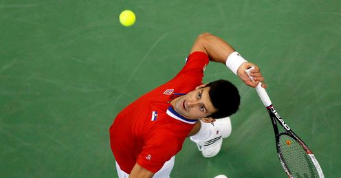 Looking up: Djokovic has the momentum ahead of 2014, says Barry