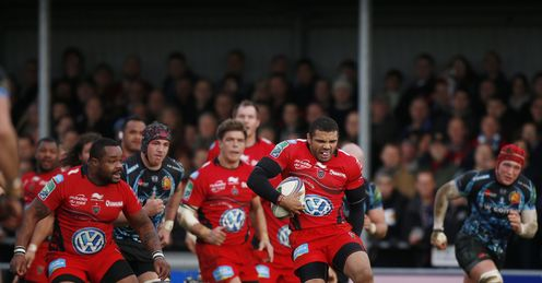 bryan habana toulon exeter chiefs