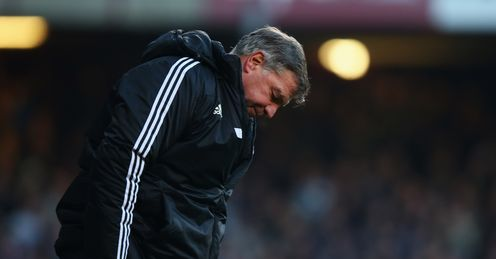 Allardyce: his Hammers face a crunch clash with West Brom