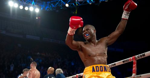 Back down: Stevenson will have to hit super-middleweight to face Froch, says Johnny