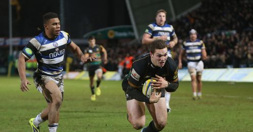 George North of Northampton