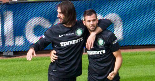 Samaras and Ledley: two high-profile players out of contract at end of season