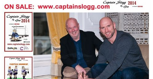 Limited Edition Calendar signed by Lawrence Dallaglio