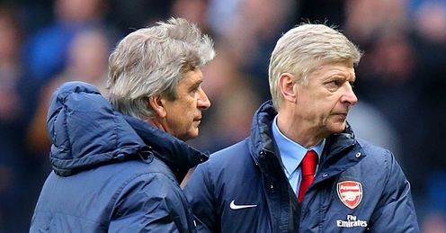 Wenger: said Pellegrini's side were no better than Everton or Southampton