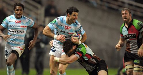 Mike Phillips Racing metro Harlequins