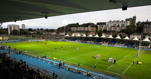 Scotstoun Stadium rugby 2012