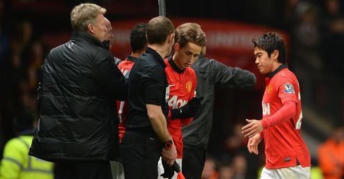 Kagawa and Januzaj: two players showing good form, says Neville