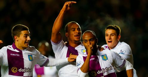 Aston Villa: had an impresive win over Southampton on Wednesday night.