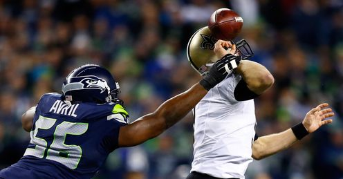 Saints: may have been denied by Seattle - but should make post-season, says Simon
