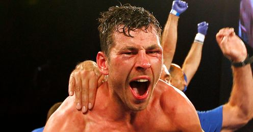 Will to win: Darren Barker has mental and physical toughness now, says Jim