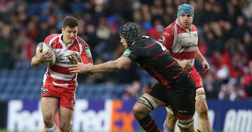 Freddie Burns Grant Gilchrist Gloucester Edinburgh Heineken Cup Rugby union