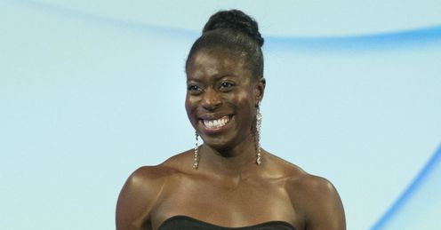 Christine Ohuruogu award The Sunday Times & Sky Sports Sportswomen Of The Year