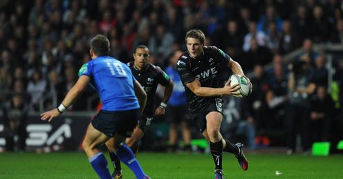 Rugby union Heineken Cup Dan Biggar Liberty Stadium Ospreys