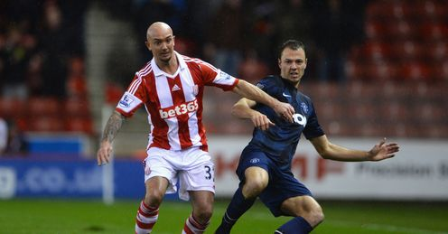 stephen ireland jonny evans football stoke manchester united