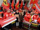 Fans Pay Tribute To Schumacher