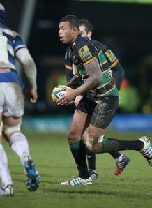 courtney lawes northampton saints bath