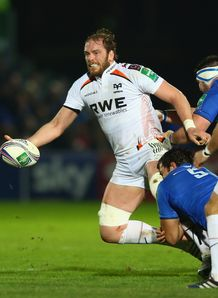 alun wyn jones ospreys leinster