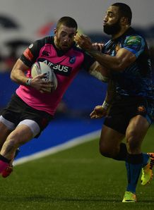 alex cuthbert cardiff blues exeter chiefs