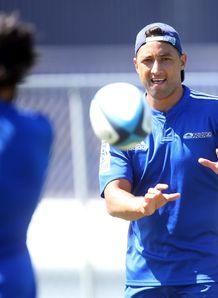 Benji Marshall Blues SR training 2014