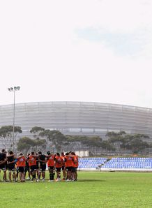 Hurricanes training CT Stadium 2011